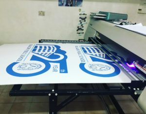 Direct printing on foam sheet