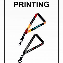 Printed tags