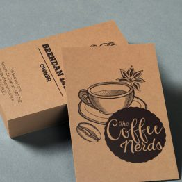 Kraft paper sample