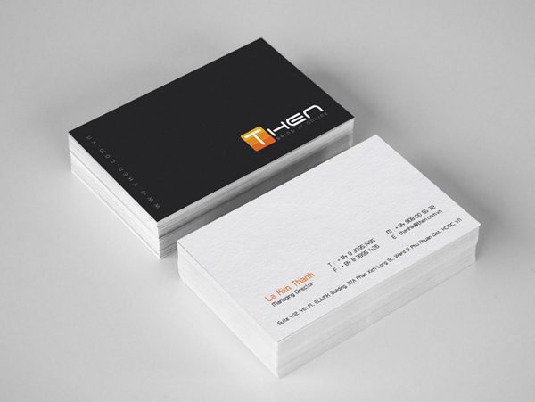 SIMPLE VISITING CARDS – 300gsm