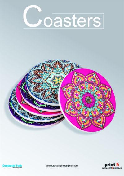 Printed coasters