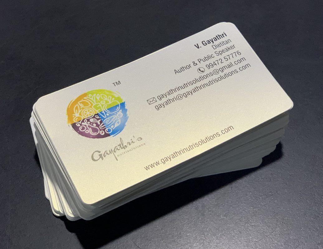 DUAL METALLIC CARD
