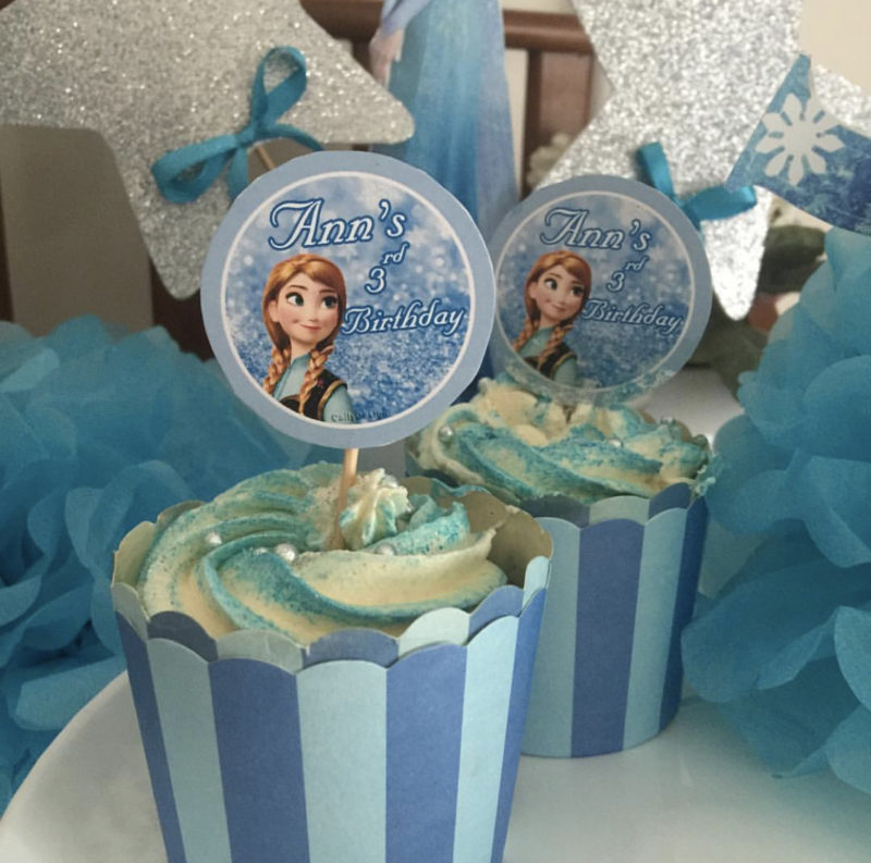 CUP CAKE TOPPERS