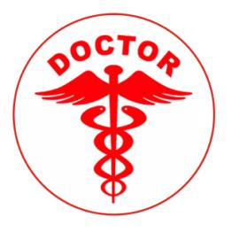 Doctor Car Sticker