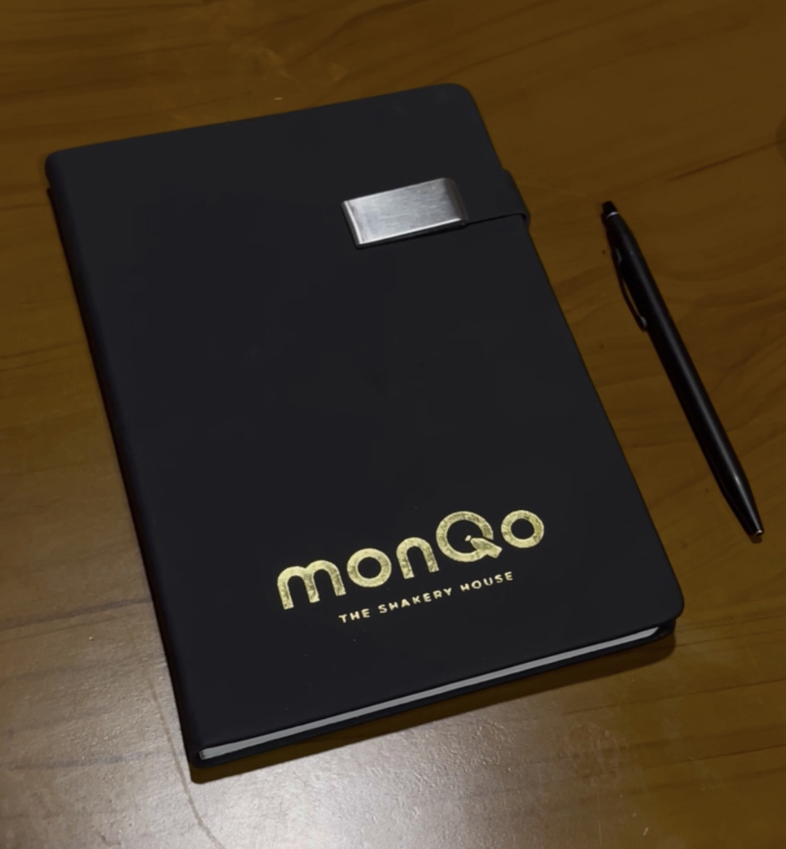 GOLD FOILED NOTEBOOK