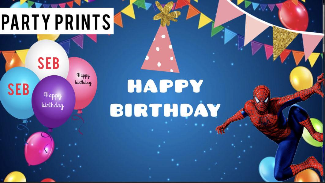 party prints