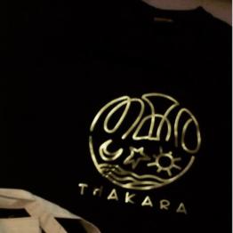 GOLD printing on tshirts