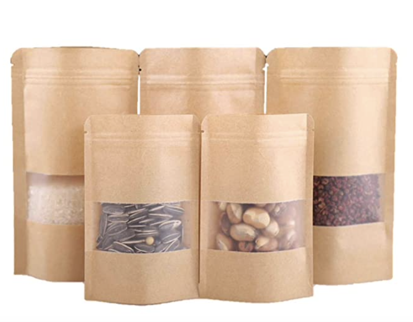 STANDUP POUCHES – with window