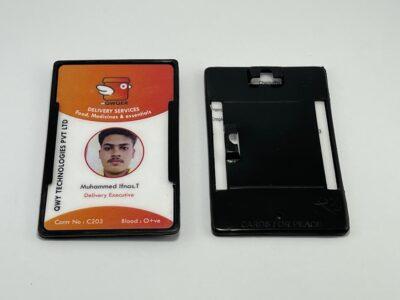 2in1 Black plastic holder